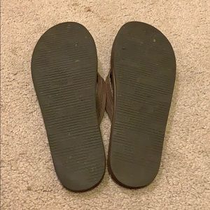 Rainbow Shoes - braided flip flops